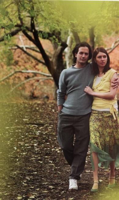 Marc Jacobs posa com sua musa, a cineasta Sofia Coppola Divulgação