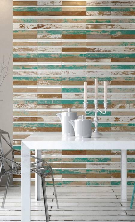 Placas de madeira (Ekko, R$ 130,91, cada, de 32,5cm x 32,5 cm) Foto: Terceiro / Divulgação