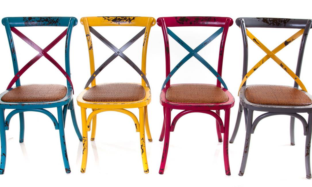 Cadeiras (Studio Grabowsky, R$ 980, cada) Terceiro / Divulgação