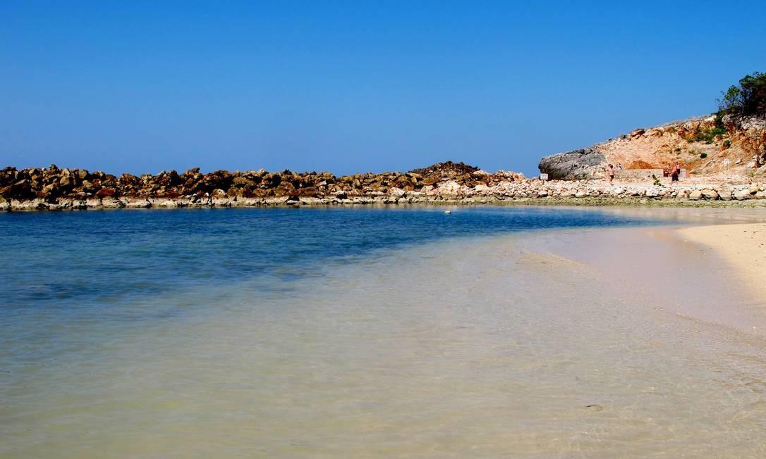 Localizadas ao norte do Haiti, as praias de Labadee são alugadas pela Royal Caribbean, uma empresa de cruzeiros que é a responsável pela exploração do turismo local. O contrato com o governo do país vai até 2050 Talita Duvanel / Talita Duvanel / Agência O Globo