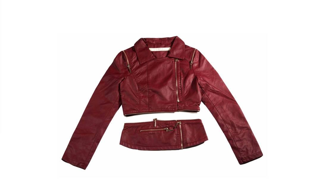 A mesma jaqueta, na versão desmontada Divulgação