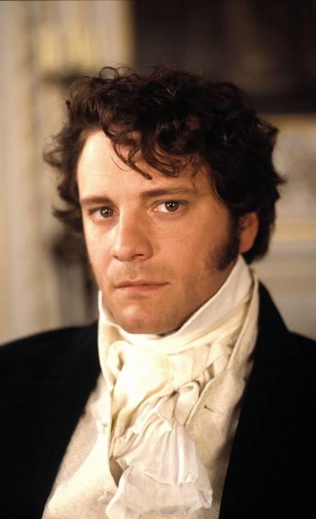 Colin Firth ganhou status de superstar ao interpretar o personagem na série da BBC em 1995 Foto: Terceiro / Divulgação