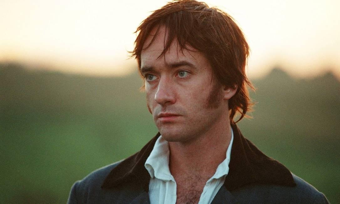 Em 2005, o ator Matthew McFayden, de 1,91m, interpreta o galã robusto Foto: Terceiro / Divulgação