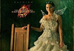 Mais um vestido dramático para Jennifer Lawrence Foto: Reprodução