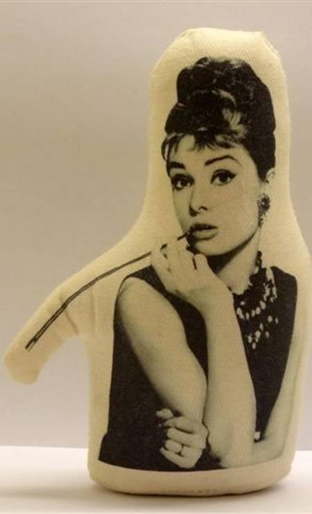 Peso de porta Audrey à venda no Studio Grabowsky, R$ 55 Divulgação