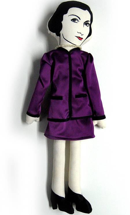 Toy art Coco Chanel da QVizu (21 2540-0481), R$ 119 Divulgação