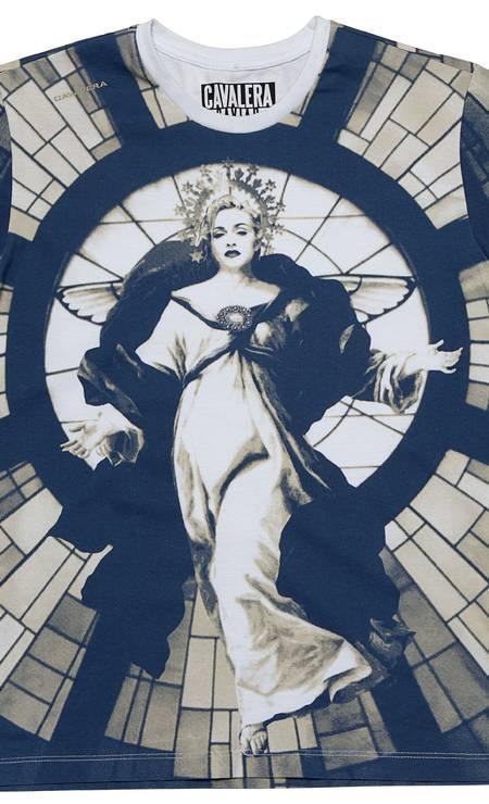 T-shirt vitral Madonna da Cavalera (21 2295-5167), R$ 224 Divulgação