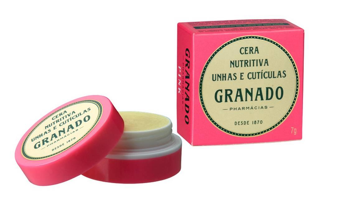 A Cera Nutritiva Unhas e Cutículas (15,25) da Granado (www.granado.com.br) é ideal para levar na bolsa Divulgação