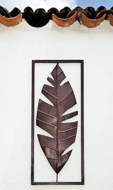 Folha de bananeira de ferro fundido do Empório Maria Monteiro (32 3355-1417), R$ 124,90 Ana Branco / Agência O Globo