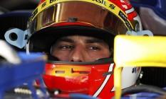 Felipe Nasr definiu a renovação com a Sauber como 'um passo importante' na carreira Foto: BRANDON MALONE / REUTERS
