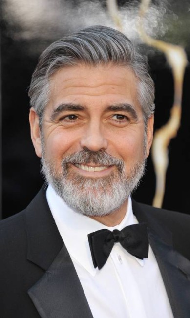 George Clooney também se destacou em termos de beleza masculina John Shearer / AP