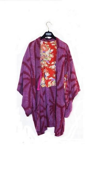 O kimono veio de Kioto, no Japão Ana Branco / Ana Branco / O Globo