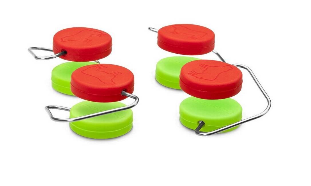 Anéis antiderrapantes para tábuas de corte da Imeltron (www.imeltron.com.br), R$ 39 o set com quatro Foto: Divulgação
