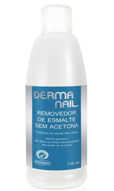 Removedor de esmaltes Derma Nail sem acetona à venda na Loosho (www.loosho.com), R$ 8,90 Divulgação