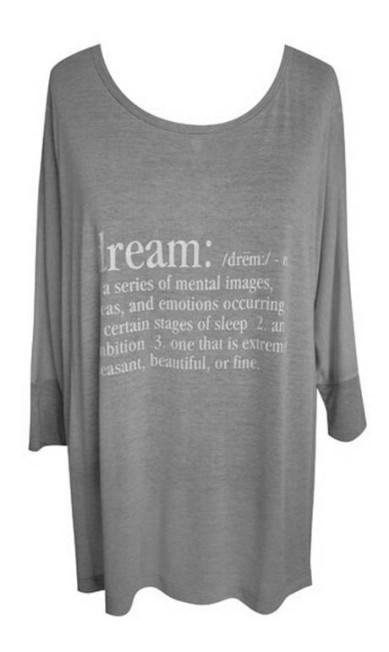 Camiseta estampa Dream QVizu , R$ 179 Divulgação