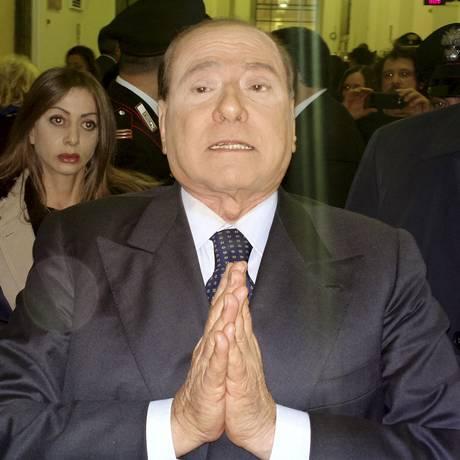 Berlusconi: 'quase santo' Foto: Antonio Calanni / AP/2013
