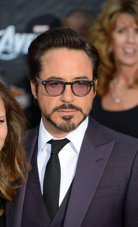Robert Downey Jr: fã da barba modelada Foto: ROBYN BECK / AFP PHOTO / Robyn Beck