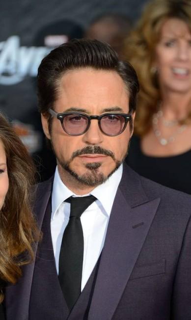 Robert Downey Jr: fã da barba modelada ROBYN BECK / AFP PHOTO / Robyn Beck