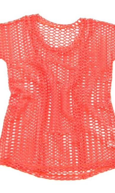 Blusa coral da CCM Sports (21 2541-4146), R$ 89 Divulgação
