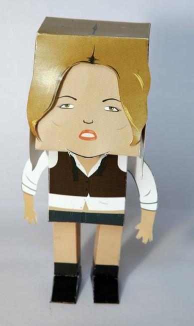 Kate Moss, outra modelo da coleção Divulgação