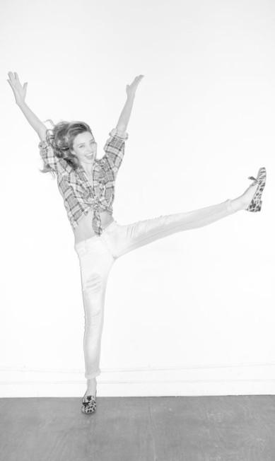 A top australiana Miranda Kerr se divertiu no estúdio com Terry Richardson Terry Richardson / Reprodução Tumblr