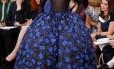 Alta-costura da Dior faz sucesso