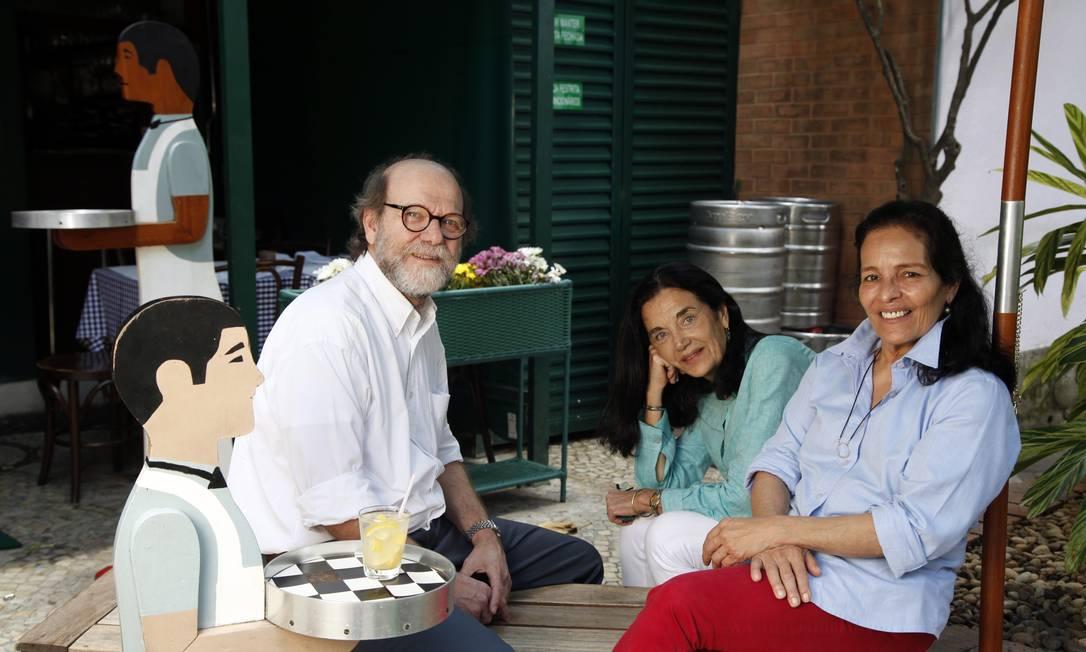 Os Guimas: Chico, Tintim e Priscila, 30 anos de parceria bem-sucedida Ana Branco / Ana Branco/ O Globo