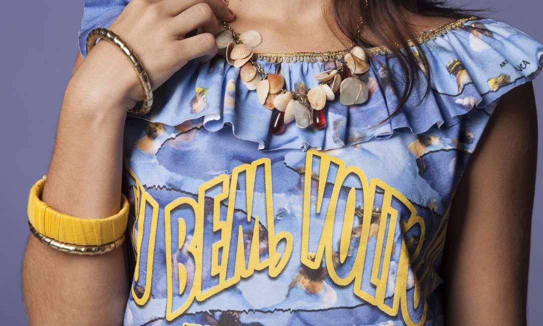 A arte da camiseta é do design Betuca Freelancer / Daniela Dacorso