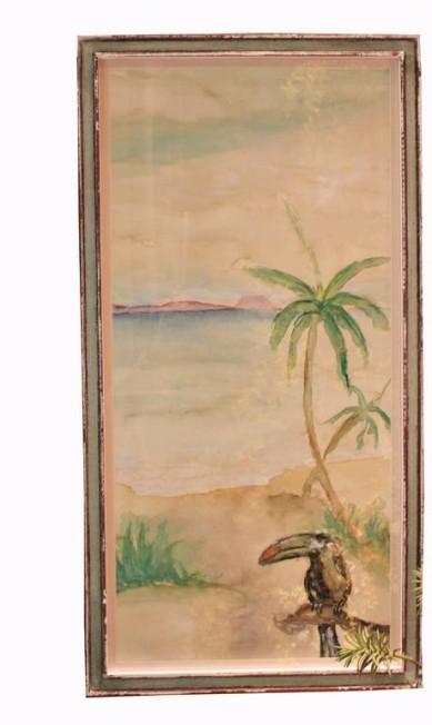 Quadro palmeira da Toute Chose (21 2135-7737), R$ 1.250 Divulgação