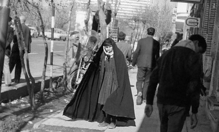 Irã em 1973 Foto: Arquivo O Globo