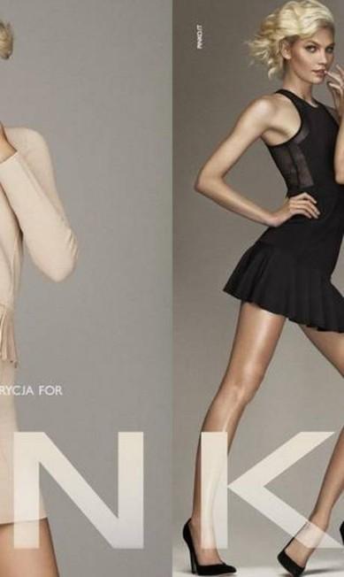 Para a Pinko, Aline Weber também foi registrada por Giampaolo Sgura. No entanto, ganha novas companhias, as modelos Kendra Spears e Patrjcya G Reprodução