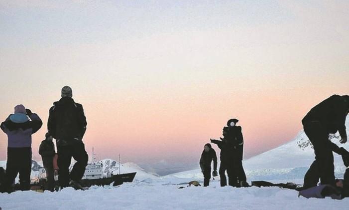 Antártica Foto: Mari Campos / Agência O Globo