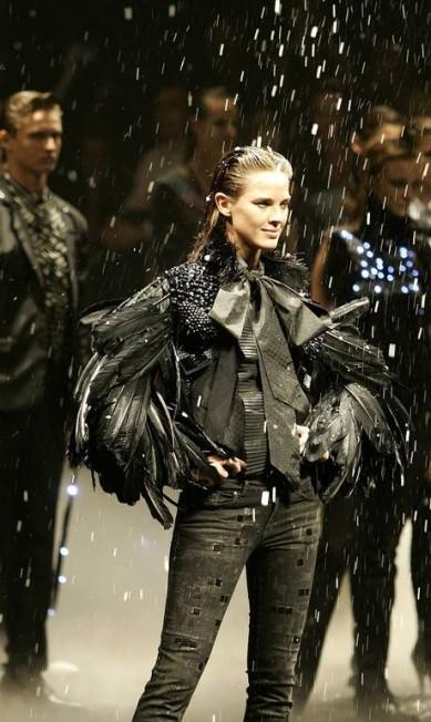 Letícia na passarela da Ellus, na São Paulo Fashion Week Maurilio Cheli / EFE