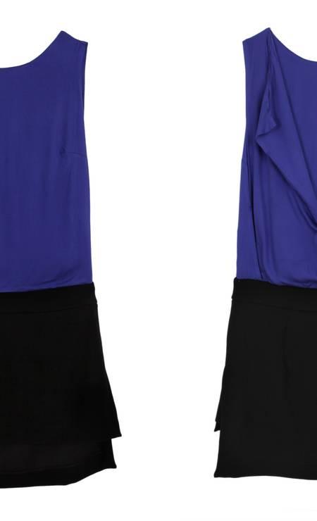 Vestido sobreposição Espaço Fashion (21 2512-8419), de R$ 239 por R$ 143,40 Foto: Divulgação