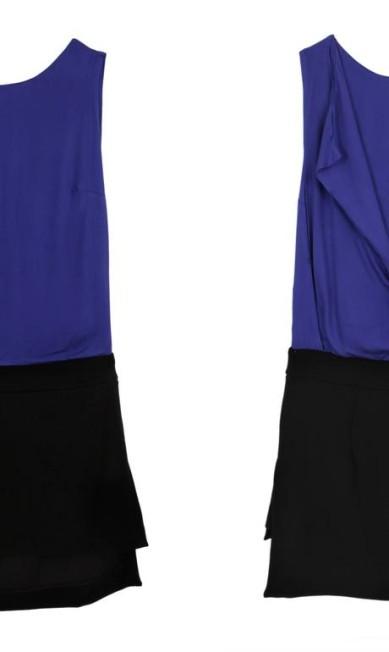 Vestido sobreposição Espaço Fashion (21 2512-8419), de R$ 239 por R$ 143,40 Divulgação