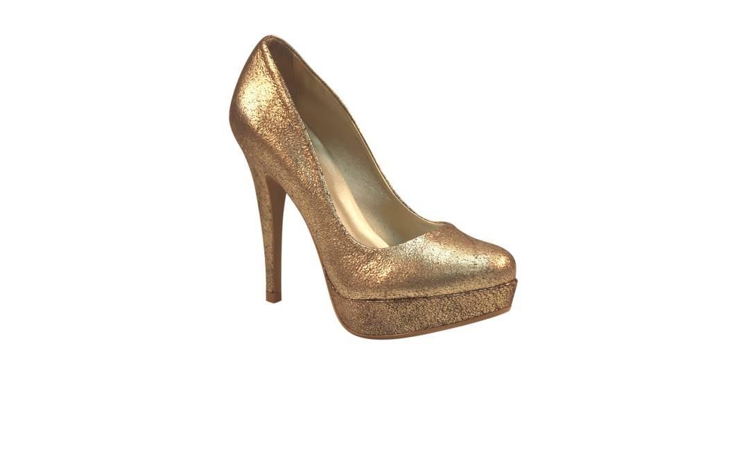 Scarpin Jill Ge da City Shoes (21 2237-9329), de R$ 199,80 por R$ 149,80 Foto: Reprodução