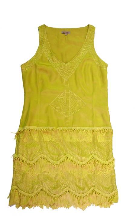 Vestido A.Brand (Rio Design Leblon), de R$ 1.798 por R$ 698. A marca está com peças com até 60% de desconto Foto: Divulgação