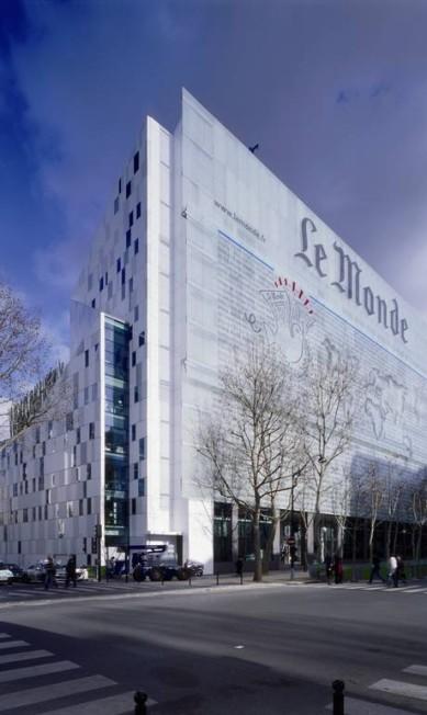 O prêmio do jornal Le Monde, em Paris, partiu das ideias de Portzamparc Terceiro / Divulgação