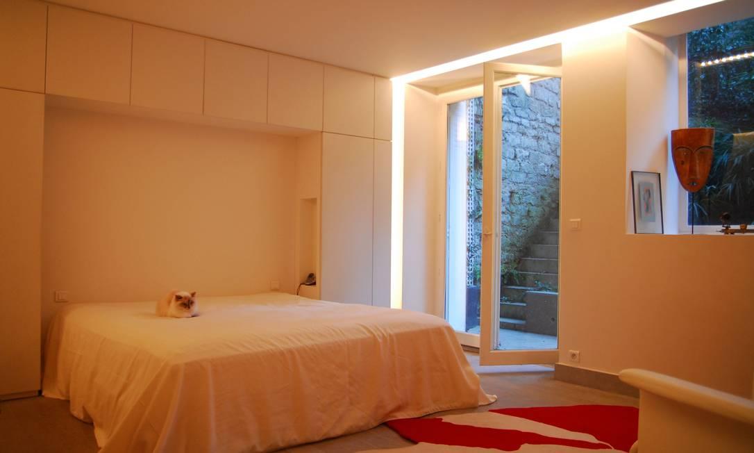 O quarto de Christian e Elizabeth em Paris Terceiro / Divulgação