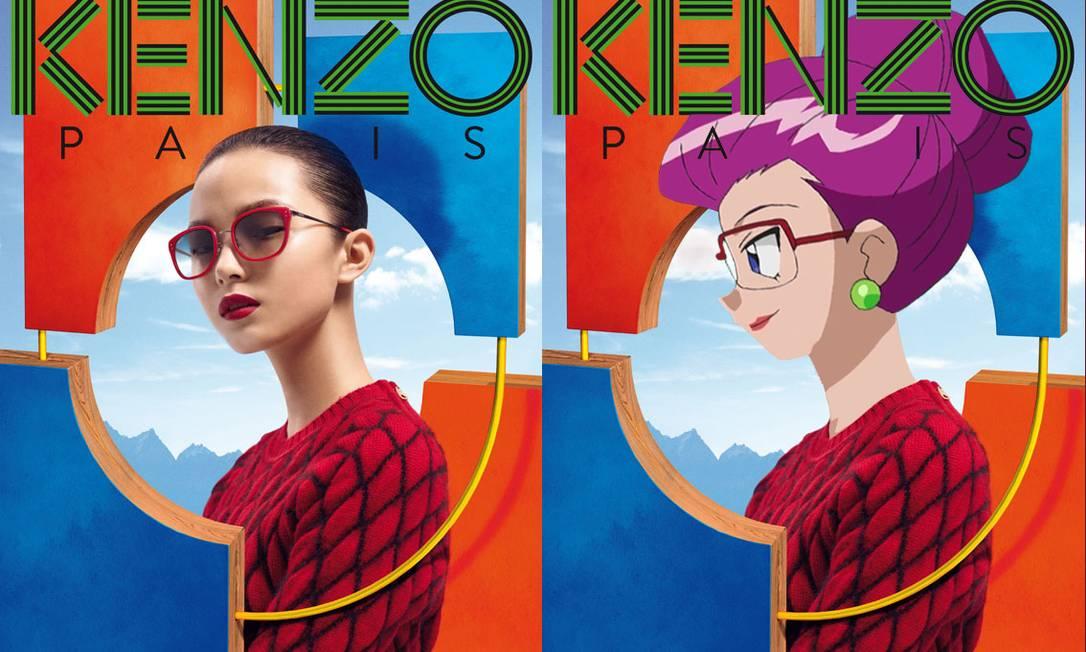 O Tumblr agradou tanto que a Kenzo chegou a divugar uma das imagens do canadense na rede Reprodução