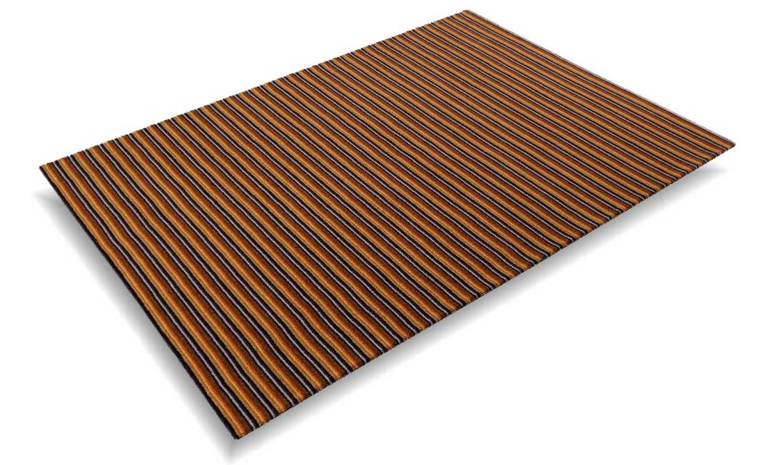 Tapete México na Santa Mônica Tapetes e Carpetes (21 3328-8927), de R$ 440/m² por R$ 352/m² Divulgação