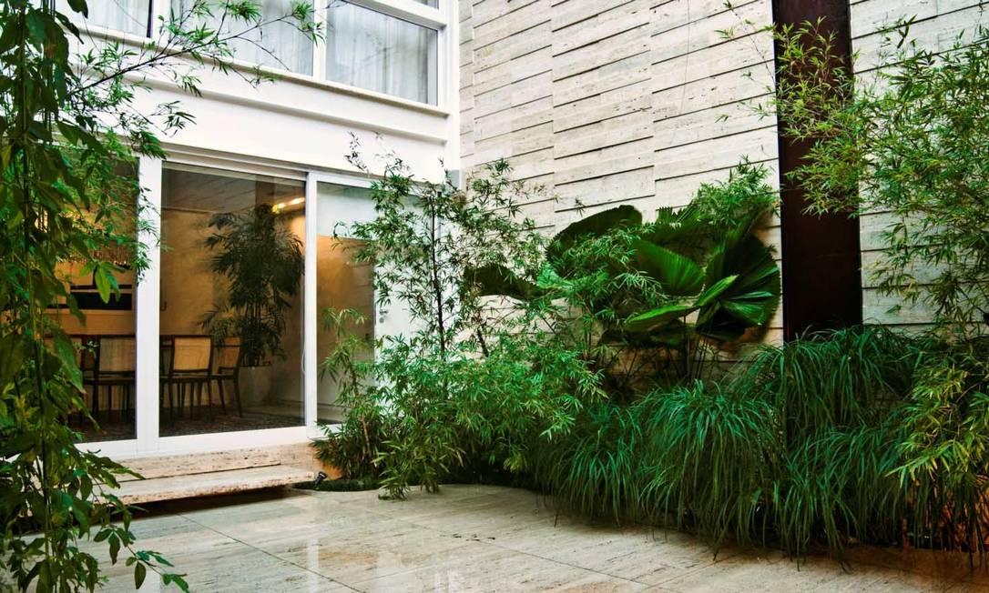 """Anna Luiza trabalha com jardins há 40 anos: """"Para aguentar o sol do verão, aconselho as palmeiras cyca e as phoenix"""" Divulgação"""