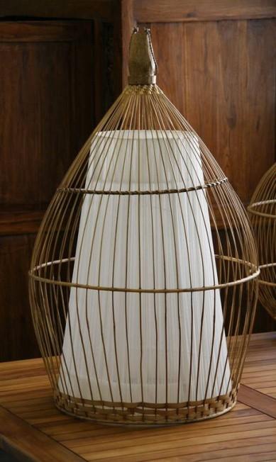 Luminária Bali em voil com fibra natural na Balai (21 3214-1900), de 248 por R$ 173 Divulgação