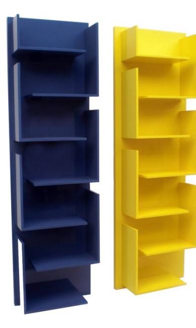 Estante Mondrian em laca brilhante da Finish (21 2429-8196). De R$ 3.356 por R$ 2.290 Divulgação
