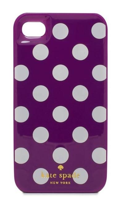 Capinha de celular da Kate Spade (www.loja.katespade.com.br), R$ 148 Divulgação