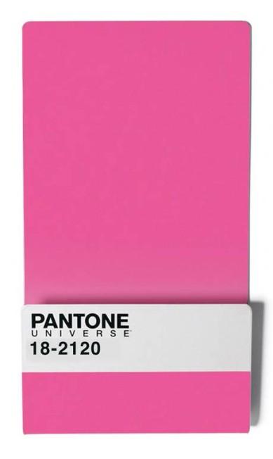 Revisteiro Parede Pantone Rosa à venda no site SD+Fernanda Marques (www.sdonline.com.br), R$ 299 Divulgação