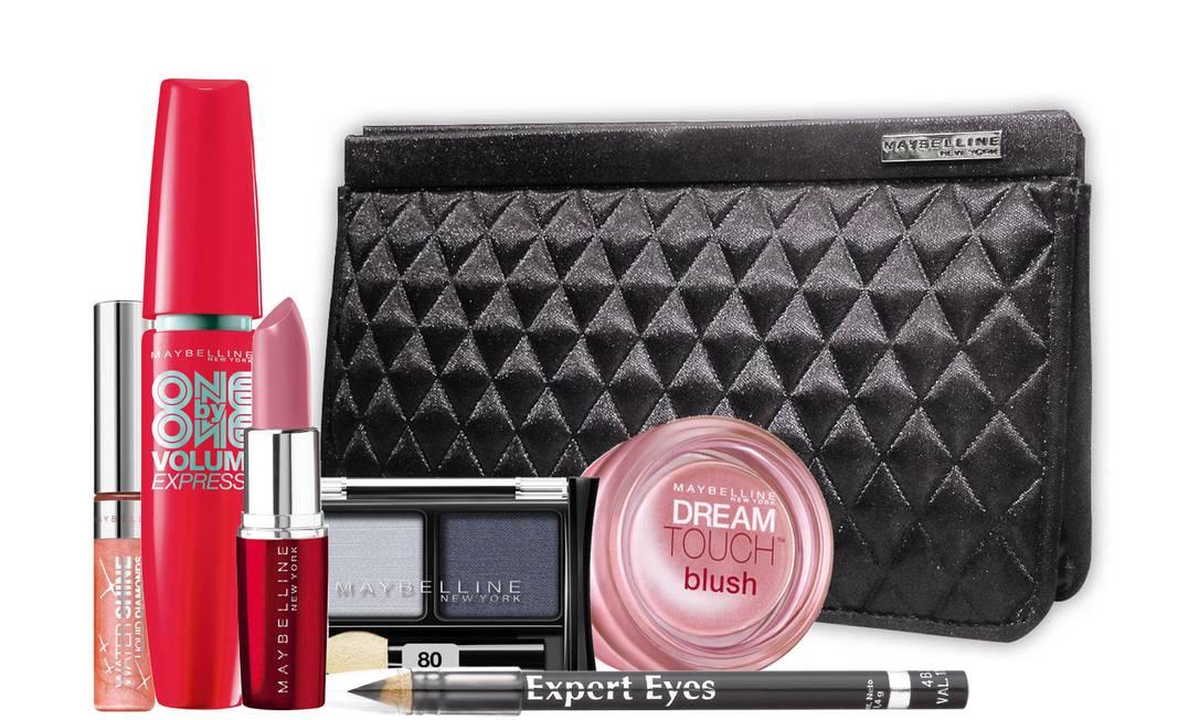 Kit de maquiagem Maybelline exclusivo para Loosho.com (www.loosho.com), R$ 129 Divulgação