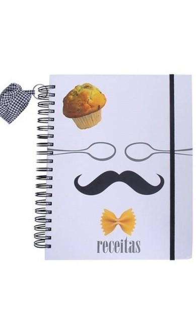 Caderno de receitas Chef da Papel Craft à venda no E-Closet (www.e-closet.com.br), R$ 87 Divulgação