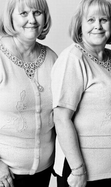 Separadas no nascimento? Danielle Boucher (à esquerda) e Jovette Desmarais foram encontradas em Montreal Reprodução