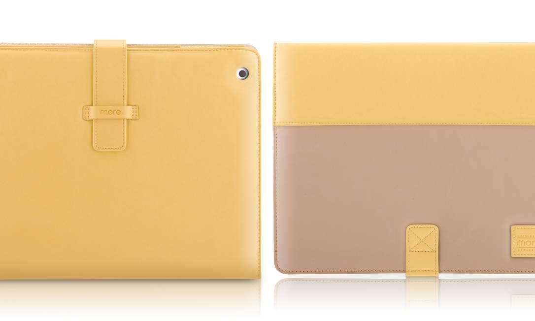 Capa para iPad Pastel YEL (http://loja.more-brasil.com.br), R$ 249 Divulgação
